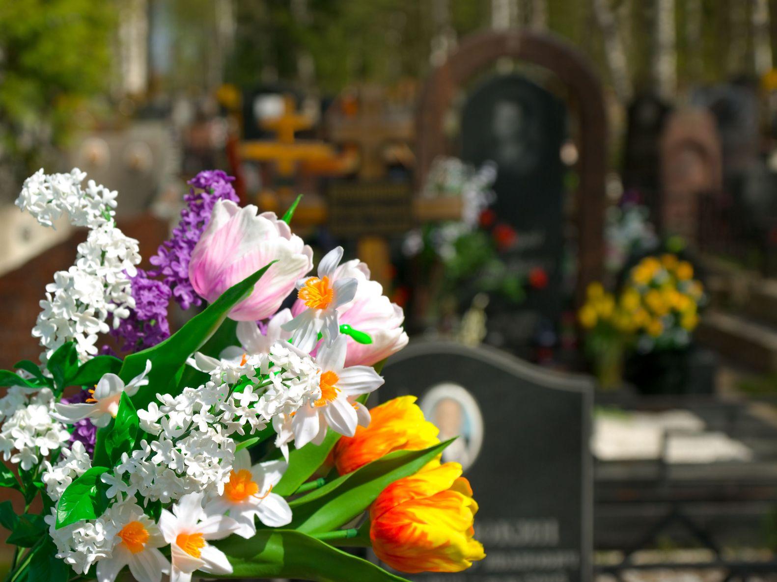 Beerdigung Blumen
